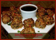 Melissa's Southern Style Kitchen: Jamaican Jerk Meatballs