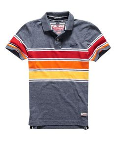 Superdry Chest Band Grindle poloshirt