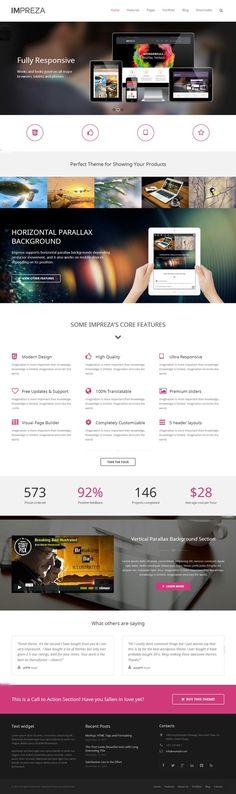 Impreza #Wordpress Theme #webdesign