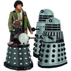 Destiny Of The Daleks Set. Doctor Who.