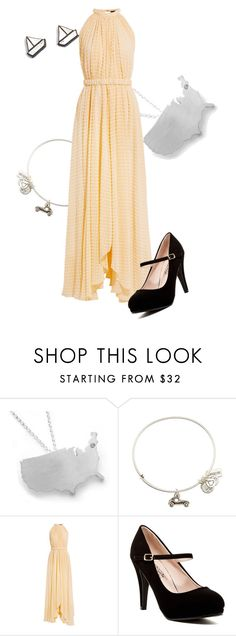 """""""District 6: Transportation"""" by madalynkw on Polyvore featuring Alex and Ani, Saloni and Materia Rica"""