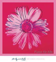 Andy Warhol - Daisy, c. 1982 (crimson and pink)