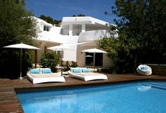 Can Chapati pictures Ibiza, Lounge, Side, Villa, Mansions, House Styles, Outdoor Decor, Design, Pictures