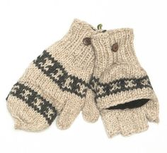 Wool Flip gloves