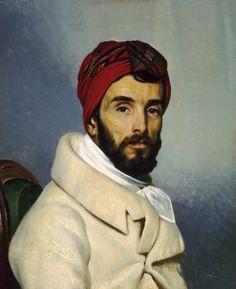 François Bouchot - Portrait de Pierre-Narcisse Guérin, ca.1830. (Werk that outfit, sir)