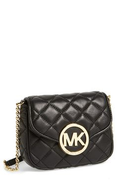 MICHAEL+Michael+Kors+'Small+Fulton'+Quilted+Crossbody+Bag+ ... : michael kors fulton quilted tote - Adamdwight.com