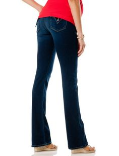 A Pea in the Pod Collection: Hudson Beth Secret Fit Belly(tm) 5 Pocket Baby Boot Maternity Jeans $198.00