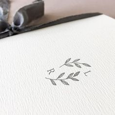 Wedding logo number nine now listed in the shop.