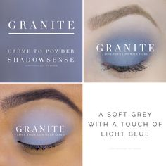 ShadowSense is a crease proof, smudge proof, water resistant eye shadow. ShadowSense should be applied to eyelids by gently blending with a sponge tip or eye brush applicator. Makeup Collage, Permanent Lipstick, Shadow Sense, Grey Nail Designs, Go For It, Eye Brushes, Waterproof Eyeliner, Dark Skin Tone, Eye Palette