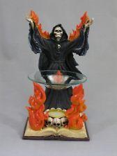 Skeleton Reaper Summoner Oil Burner Gothic Halloween