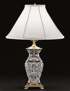 Waterford Crystal Table Lamps....crystal, my love for things that sparkle! +
