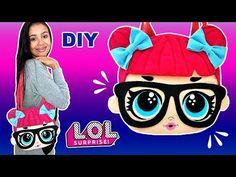 YouTube Funny Birthday Cakes, Doll Videos, Felt Pillow, Diy Tote Bag, Art N Craft, Lol Dolls, Kids Bags, Crochet For Kids, Fabric Dolls