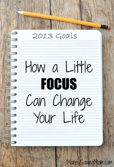 Change your life by choosing one word to focus on for 2013.