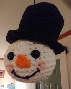Craft Bazaar, Crochet Snowman, Bazaar Ideas, Birthday Parties, Crochet Hats, Holidays, Patterns, Knitting, Party