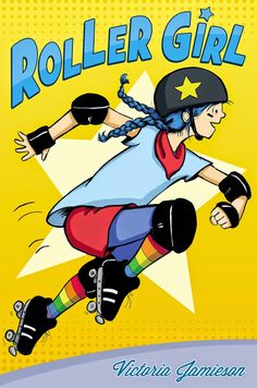 """Did you love """"El Deafo""""? Then you're going to LOVE """"Roller Girl""""! Girl power and the courage to go it alone (and roller derby!) all rolled into one. A new favorite, for sure!"""