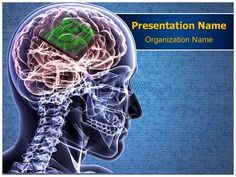 Brain Biochip Powerpoint Template is one of the best PowerPoint templates by EditableTemplates.com. #EditableTemplates #PowerPoint #Sensory Perception #Concentration  #Human Head #Male #Science #Radiogram #Intellect #Illustration #Innovation #Anatomy #Computer #Learning #Energy #Strategy #Man #Thought #Judgment #Skeleton #Physical #Imagination #Brainstorming #Shiny #Success #Binary Code #Growth #Pensive #Expertise #Creativity #Human #Idea #Ideas #Human Face #Bright #Thinking #Structure