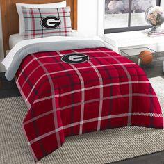 Collegiate Georgia Comforter Set