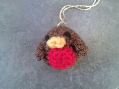 Little Robin Tree Ornament and other free Crochet Christmas Ornament Patterns at mooglyblog.com!