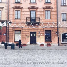 Warsaw Old Town, Poland by The Happy Jetlagger