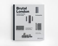 Brutal London by Zupagrafika is a playful journey throughLondon´s post-war brutalist architecture that allows the readers to construct some of the most interesting and controversial concrete structures while learning about their place in the city´s archi…