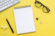 Top view of desktop with glasses and keyboard , Book Background, Pastel Background, Phone Wallpaper Images, Scenery Wallpaper, Back To School Wallpaper, Inmobiliaria Ideas, Back To School Stationery, Dental Clinic Logo, Powerpoint Background Design