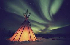 Sleep under the Northern Lights