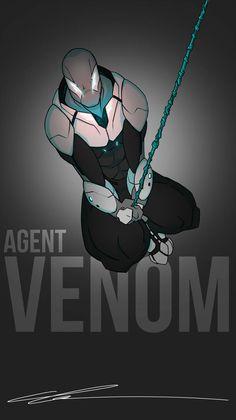 Agent Venom of Dimension 559 by MrGreenlight on DeviantArt Character Art, Character Design, Character Inspiration, Du Dudu E Edu, Spiderman Art, Spiderman Sketches, Comic Art, Comic Books, Superhero Characters