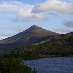 The First Mountain (munroe)  I climbed schehallion in kinloch Rannoch.
