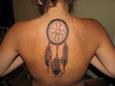 Dreamcatcher Tattoos For Women