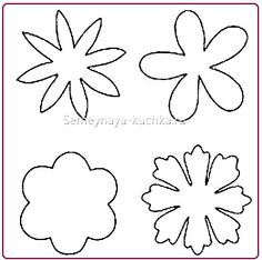 30 Images of Felt Flower Template Paper Flowers Diy, Handmade Flowers, Flower Crafts, Fabric Flowers, Diy Flower, Fake Flowers, Lotus Flower, Felt Flowers Patterns, Floral Embroidery Patterns