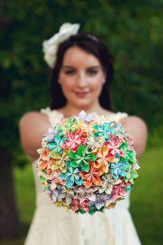 je veux magazine: Origami per le vostre nozze