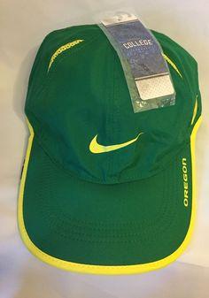 innovative design 858ee fa4da ... switzerland nike mens dri fit hat green yellow oregon nike strapback hat  cap fashion. ebay
