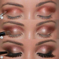 soft shimmer eye makeup #Makeup #Beauty http://makeupit.com/Zykrd | Do you have Sensitive skin? Try these Foundations!