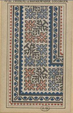 Gallery.ru / Фото #74 - старинные ковры и схемы для вышивки - SvetlanN