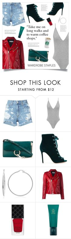 """Tried and True: Wardrobe Staples"" by marina-volaric on Polyvore featuring rag & bone/JEAN, Chloé, Gianvito Rossi, Sterling Essentials, Coach, Gucci, Oribe and WardrobeStaples"