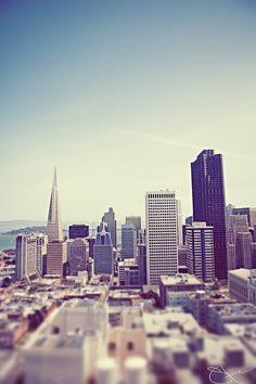 San Francisco, California. I've already been once, but it was very brief. I'd love to go again. Oh The Places You'll Go, Places Around The World, Places Ive Been, Places To Travel, Places To Visit, Wonderful Places, Beautiful Places, California Love, I Want To Travel