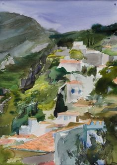 Canvas Art For Sale, Art Paintings For Sale, Art History Major, Greece Painting, Greek Art, Color Of Life, Gravure, Artist Art, Art World