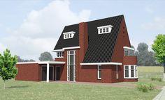 Jaren 30 huis te Vlijmen » Van Hooft Architecten