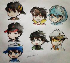 Anime Galaxy, Boboiboy Galaxy, Boboiboy Anime, My Childhood Friend, Asuna, My Idol, Digital Art, Marvel, Animation