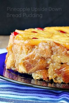 Pineapple Upside Down Bread Pudding  #breadpudding #dessert #callmepmc Best Bread Pudding ever!