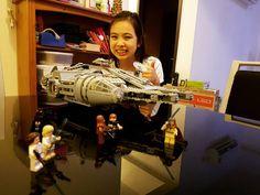 I finally built Lego Millennium Falcon!!!