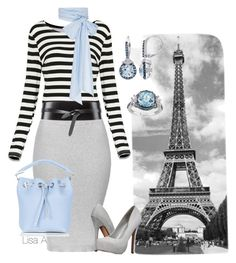 Tres Bien by labond on Polyvore featuring polyvore, мода, style, Topshop, Call it SPRING, MDS Stripes, Isabel Marant, Brewster Home Fashions, fashion, clothing, SkyBlue, blackandwhite, stripe and grey