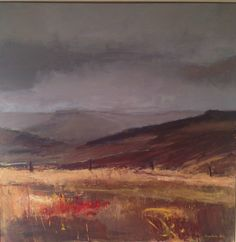 Tracy Levine | Heather and Moors 2. 100cm x 100cm. (sold).