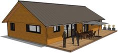 Pergola, Surface Habitable, Construction, Shed, Outdoor Structures, How To Plan, Houses, Ceiling Height, Building