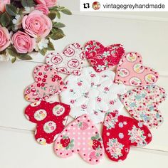 Congratulations to lucky comment number Mary Beth-crash-n-smash for winning the book giveaway! Small Quilts, Mini Quilts, Diy Cushion Covers, Flower Quilts, Baby Hats Knitting, Heart Crafts, Happy Flowers, Christmas Makes, Book Quilt