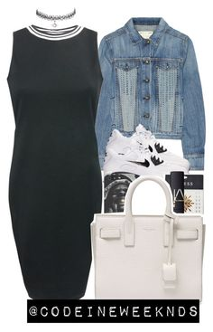 """""""8:24:15"""" by codeineweeknds ❤ liked on Polyvore featuring rag & bone/JEAN, NIKE, GUESS, NARS Cosmetics and Yves Saint Laurent"""