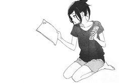 Merida, Hirunaka No Ryuusei, Anime Monochrome, Book Girl, Shoujo, Tutorials, Black And White, Manga, Female