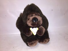 Gorilla Plush with Banana - Flowers Inc. Balloons - Cute Toy Monkey