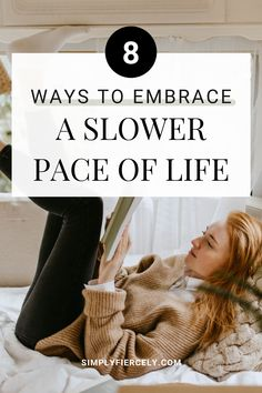 """If you've ever asked yourself """"How can I live a slower life?"""", this is for you. Here are 8 ways to push back against busy and embrace a slow-paced life. Living Simple Life, Minimalist Closet, Minimalist Lifestyle, Slow Living, Dreaming Of You, Minimalism, Journal, Live, Design"""