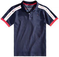 Polo T Shirts, Boys Shirts, Tommy Hilfiger Outfit, Boy Fashion, Mens Fashion, Ralph Lauren, Miguel Angel, Summer Tshirts, Preppy Style